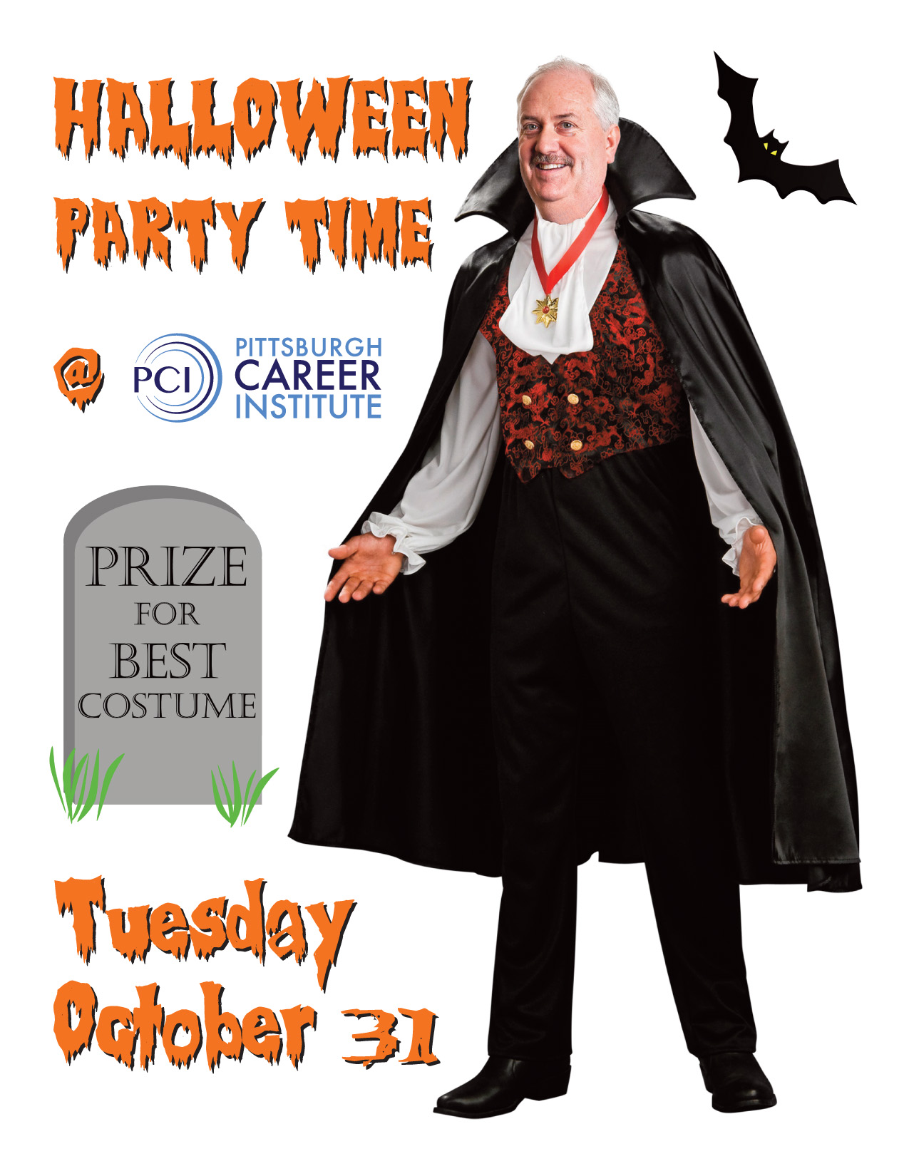 halloween party time | pittsburgh career institute