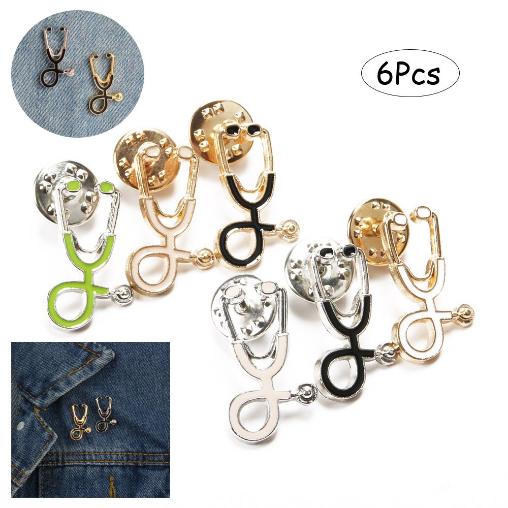 picture of stethoscope pins