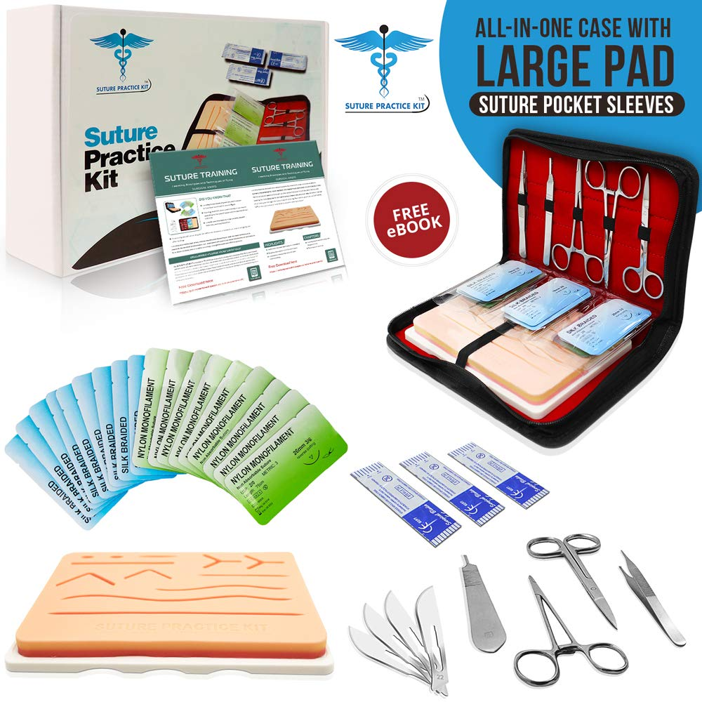 image of practice suture kit